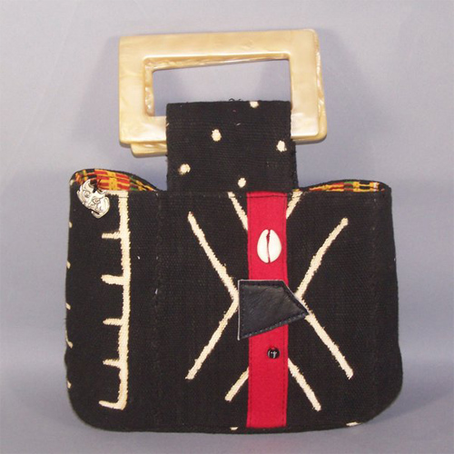 black-mudcloth-handle-bag